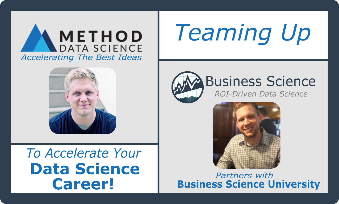 Press Release: Business Science Partners With Method Data Science To Accelerate Your Data Science Career