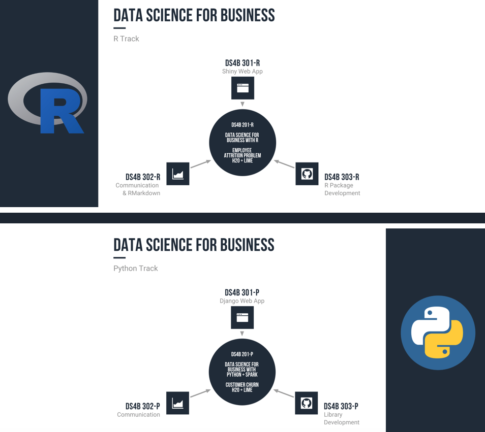 Data Science For Business Course Tracks