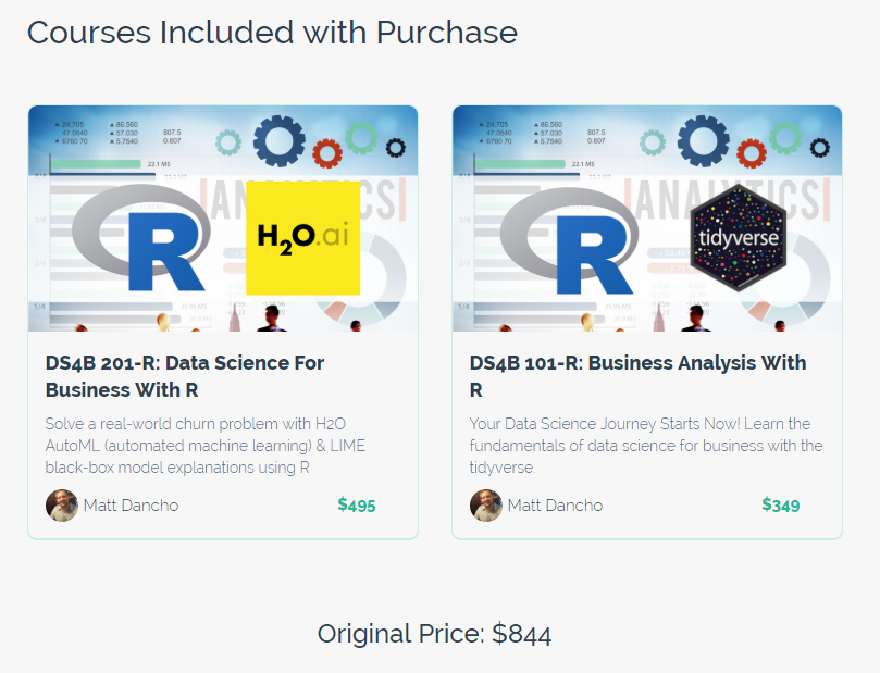 Data Science Course Launch Today - Business Analysis With R