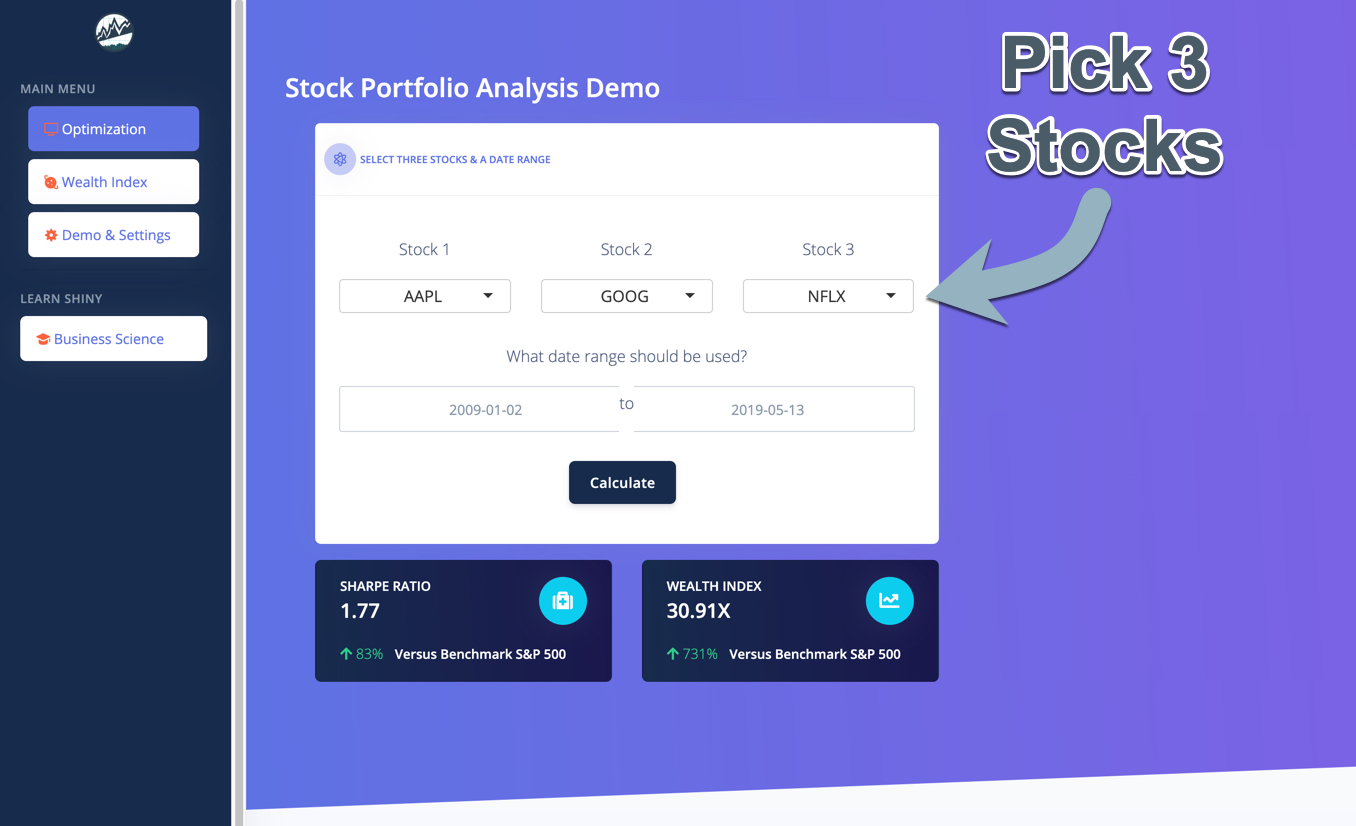 Pick 3 Stocks