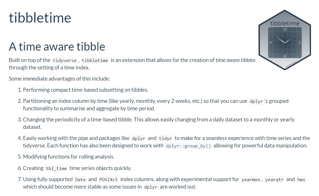 tibbletime overview
