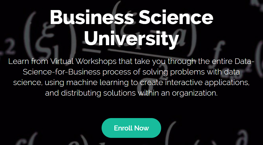 Business Science University
